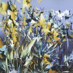 Origami Flowers Frame 89, simpleFLRS series