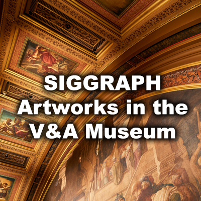 SIGGRAPH Artworks in the V&A