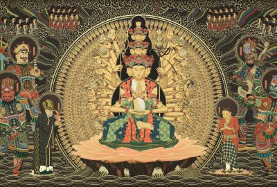 Park, H. Jeong, J. Jeong, Kim, Yoon, Jung, Hawng, Sung: Painting Of Thousandhands Avalokitesvara