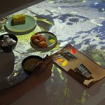 Augmented Reality Media to Express the Experience of Japanese Food Culture