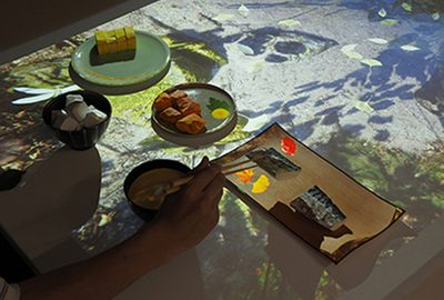 Kobayashi, Nagata, Hoshino: Augmented Reality Media to Express the Experience of Japanese Food Culture